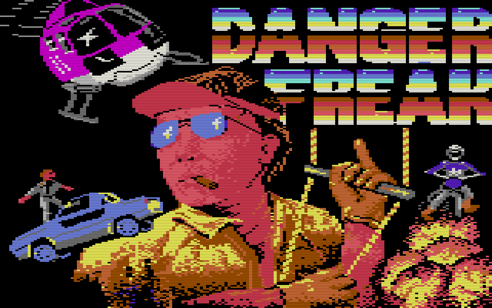 Danger Freak. (Bild: Rainbow Arts, 1987)