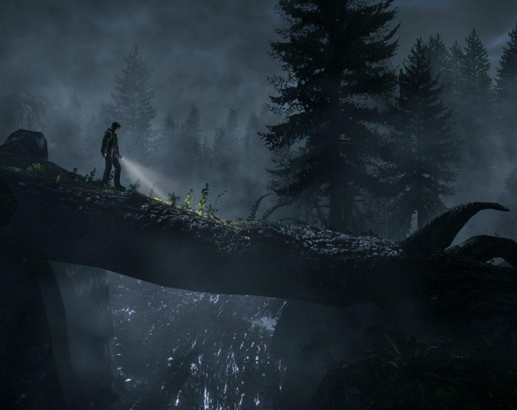 Nichts geht über einen gemütlichen Waldspaziergang bei Nacht. (Bild: wallpaperplay.com/remedy)