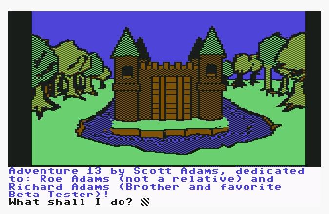 The Sorcerer of the Claymorgue Castle von 1985. (Bild: Adventure International, C64)