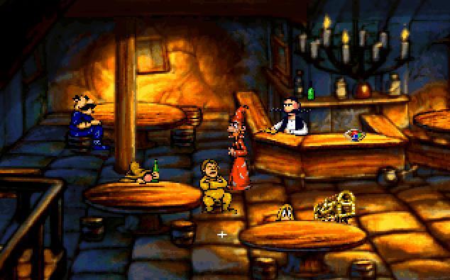 Discworld von 1995. (Bild: Perfect 10 Productions, MS-DOS)