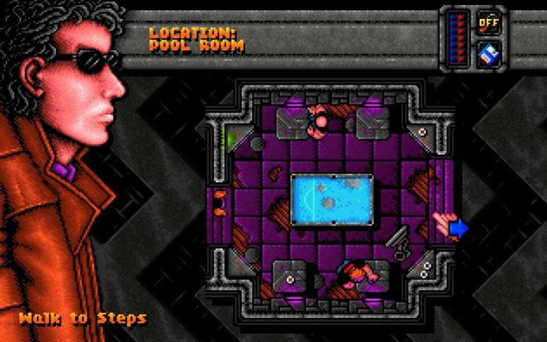 DreamWeb von 1994. (Bild: Empire Interactive, Amiga)