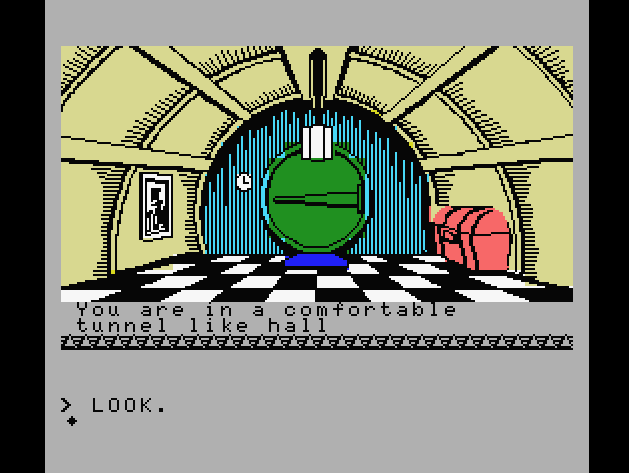 The Hobbit von 1982. (Bild: Melbourne House, MSX)