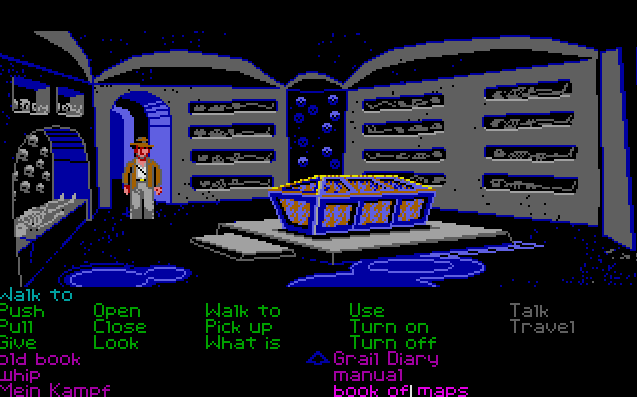Indiana Jones and the Last Crusade von 1989, (Bild: Lucasfilm Games, Atari ST)