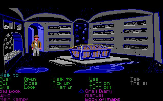 Indiana Jones and the Last Crusade von 1989, (Bild: Lucasfilm Games, Atari ST)