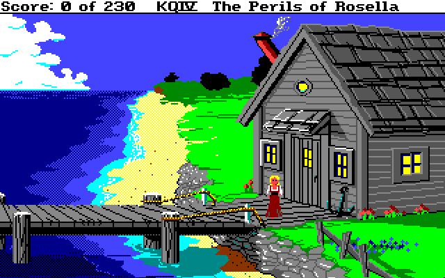 King's Quest IV: The Perils of Rosella von 1990. (Bild: Sierra On-Line, Amiga)