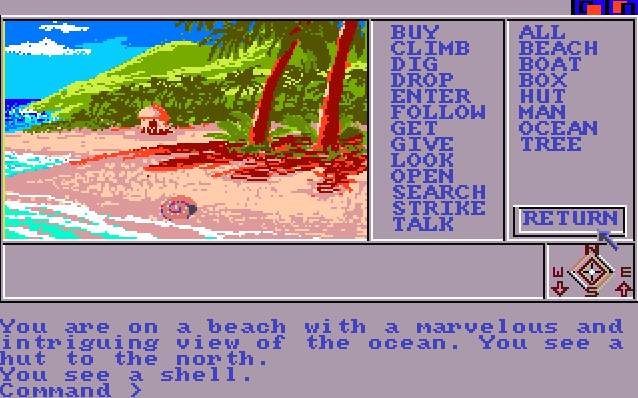 Mindshadow von 1985. (Bild: Activision, Amiga)