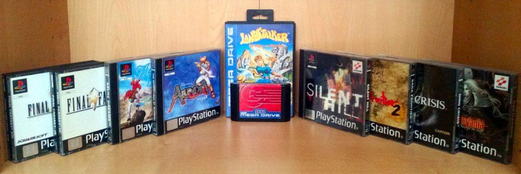 Alle verbliebenen Spiele, die zu ihrer Zeit neu gekauft wurden und sich nach wie vor in meinem Besitz befinden. (Bild: Christian Serra)