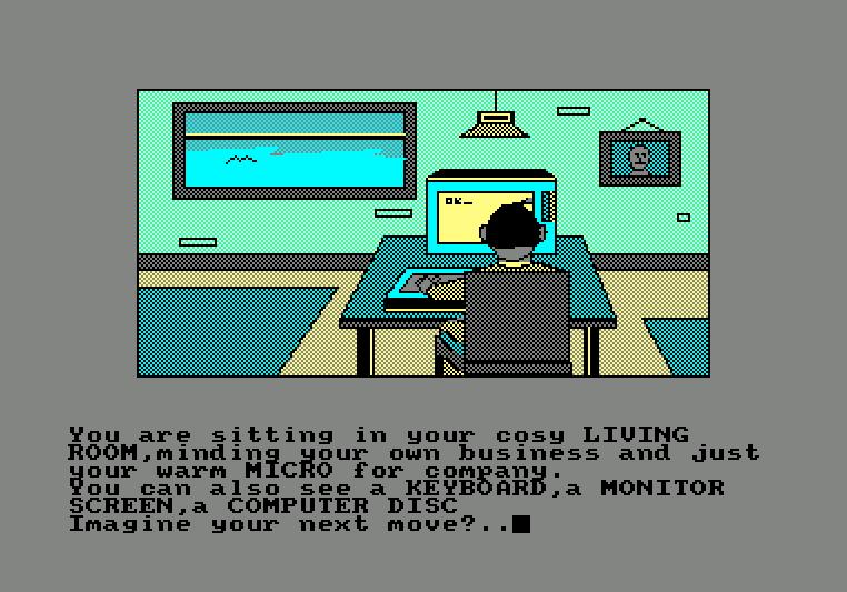 Imagination von 1987. (Bild: Firebird, Schneider CPC)