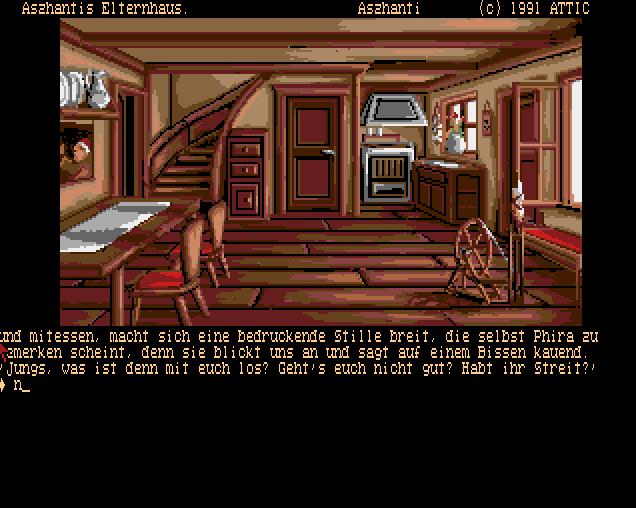 Die Drachen von Laas von 1991 (Bild: attic, Amiga)
