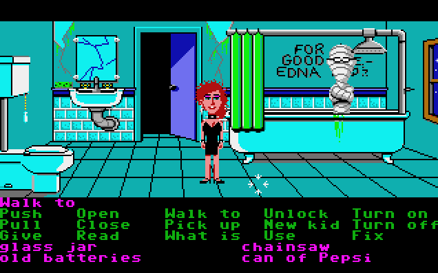 Maniac Mansion von 1987. (Bild: Lucalfilm Games, Atari ST)