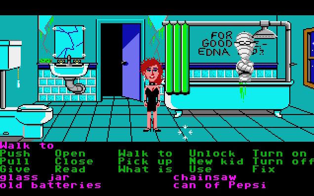 Maniac Mansion von 1987. (Bild: Lucalfilm Games, Atari ST)