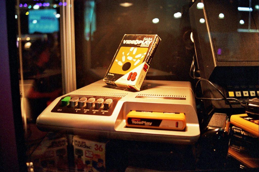 """Das SABA Videoplay. Aufgenommen auf der gamescom 2010 in Köln im Rahmen der Wanderausstellung """"Haus der Computerspiele"""" von René Meyer. (Bild: André Eymann)"""