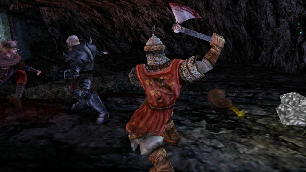 Das Hack and Slay Adventure Rune auf dem PC von 2000 bot einen großartigen Coop-Modus für die gesamte Spielkampagne. (Bild: Human Head Studios)