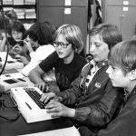 Lernen am VC 20 in Denver, Colorado. Foto von 1982. (Bild: PCWorld.com)