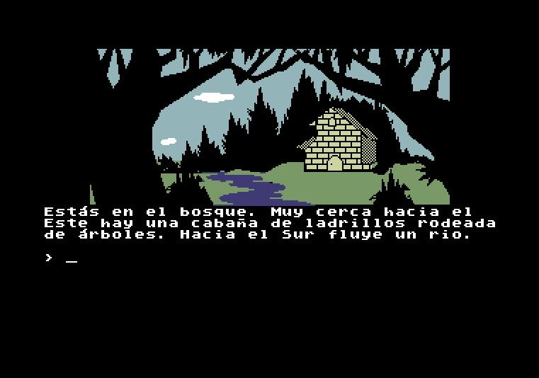 La Aventura Original von 1989 (Bild: Aventuras AD, ZX Spectrum)