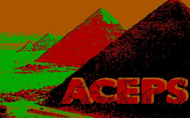 El enigma de Aceps von 1986. (Bild: ACE Software, DOS)