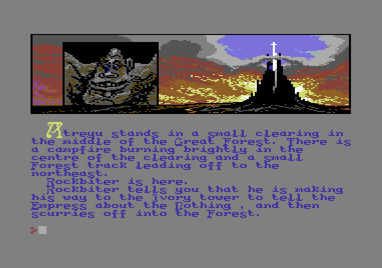 The Neverending Story von 1985. (Bild: Ocean Software Ltd., C64)