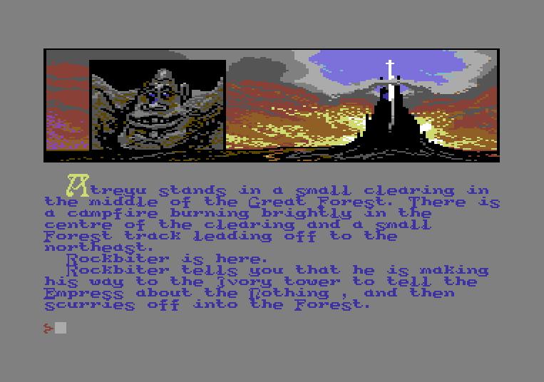 The Neverending Story von 1985. (Bild: Ocean Software Ltd., C64)