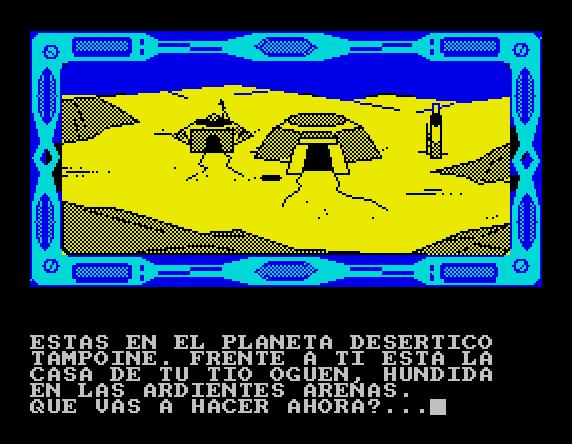 La Guerra de las Vajillas von 1988. (Bild:Dinamic Software, ZX Spectrum)