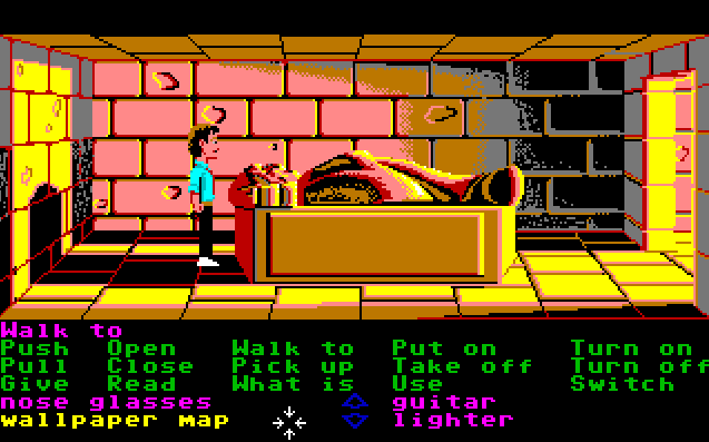 Zak McKracken and the Alien Mindbenders. (Bild: Lucasfilm Games LLC, Amiga)