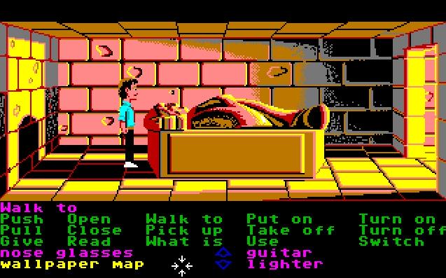 Zak McKracken and the Alien Mindbenders. (Bild: Lucasfilm Games LLC, Amiga)