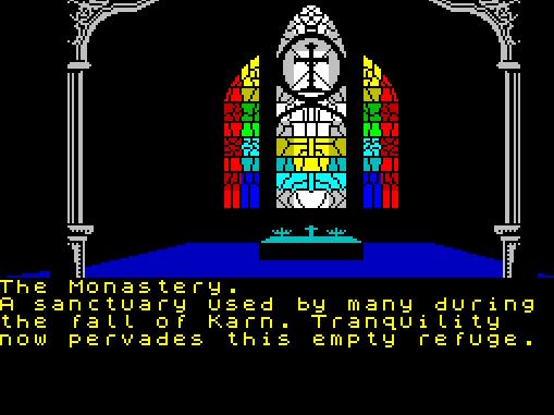 Heroes of Karn von 1984 (Bild: Interceptor Software, ZX Spectrum)