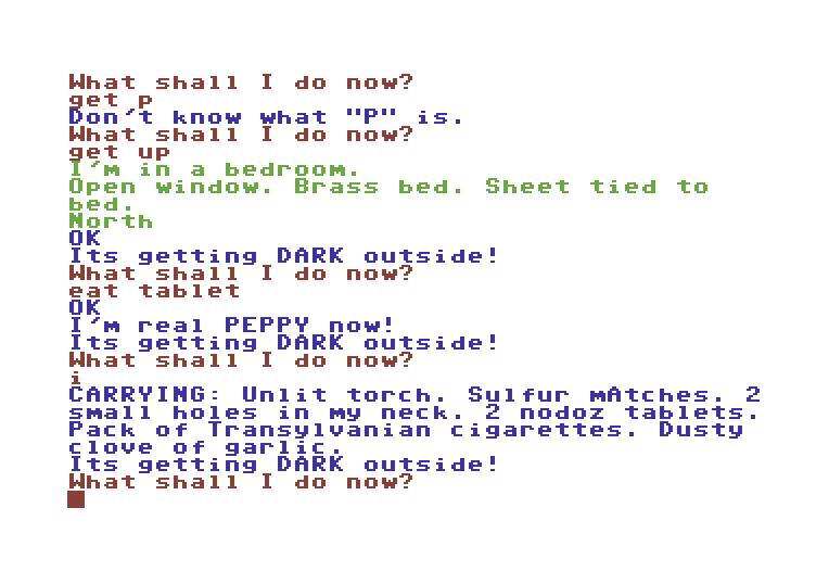 The Count von 1979. (Bild: Creative Computing Software, C64)