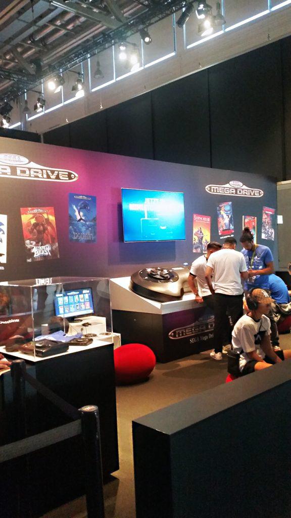 Das Sega Mega Drive wird vorgestellt – Willkommen im Jahr 2019! (Bild: Christian Serra)