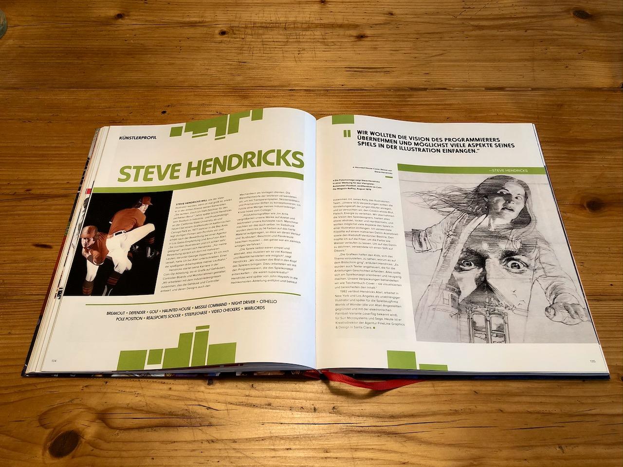 Steve Hendricks war für die Visualisierung von Haunted House, Defender oder Missile Command verantwortlich. (Bild: André Eymann)