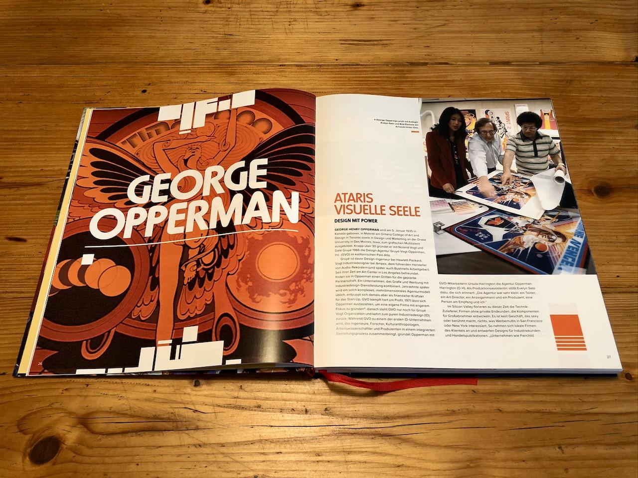 George Opperman hat die Designs von ATARI wie kein anderer geprägt. (Bild: André Eymann)