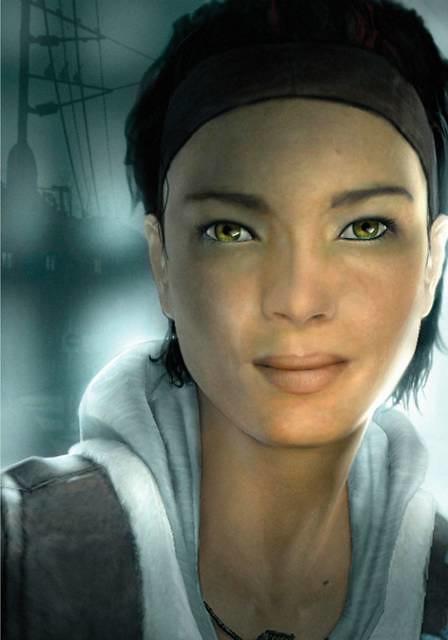 So kennt man sie, Alyx Vance aus Half-Life 2. (Bild: Valve)