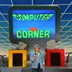 Biggi lädt in der Computer Corner-Sendung vom 8. April 1986 zum Spielen ein. (Bild: ZDF)