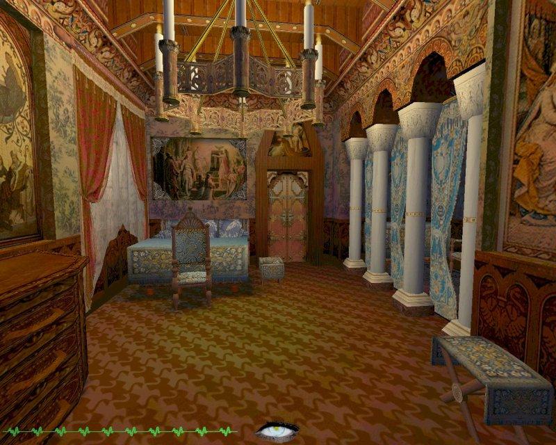 """Innenraum Schloss Neuschwanstein, Mod """"King's Story"""" von Zontik. (Bild: Screenshot © Zontik)"""