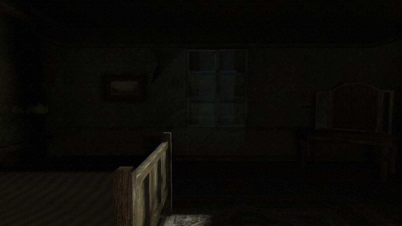 Das Mondlicht im Hotel zu Jacks Zimmer