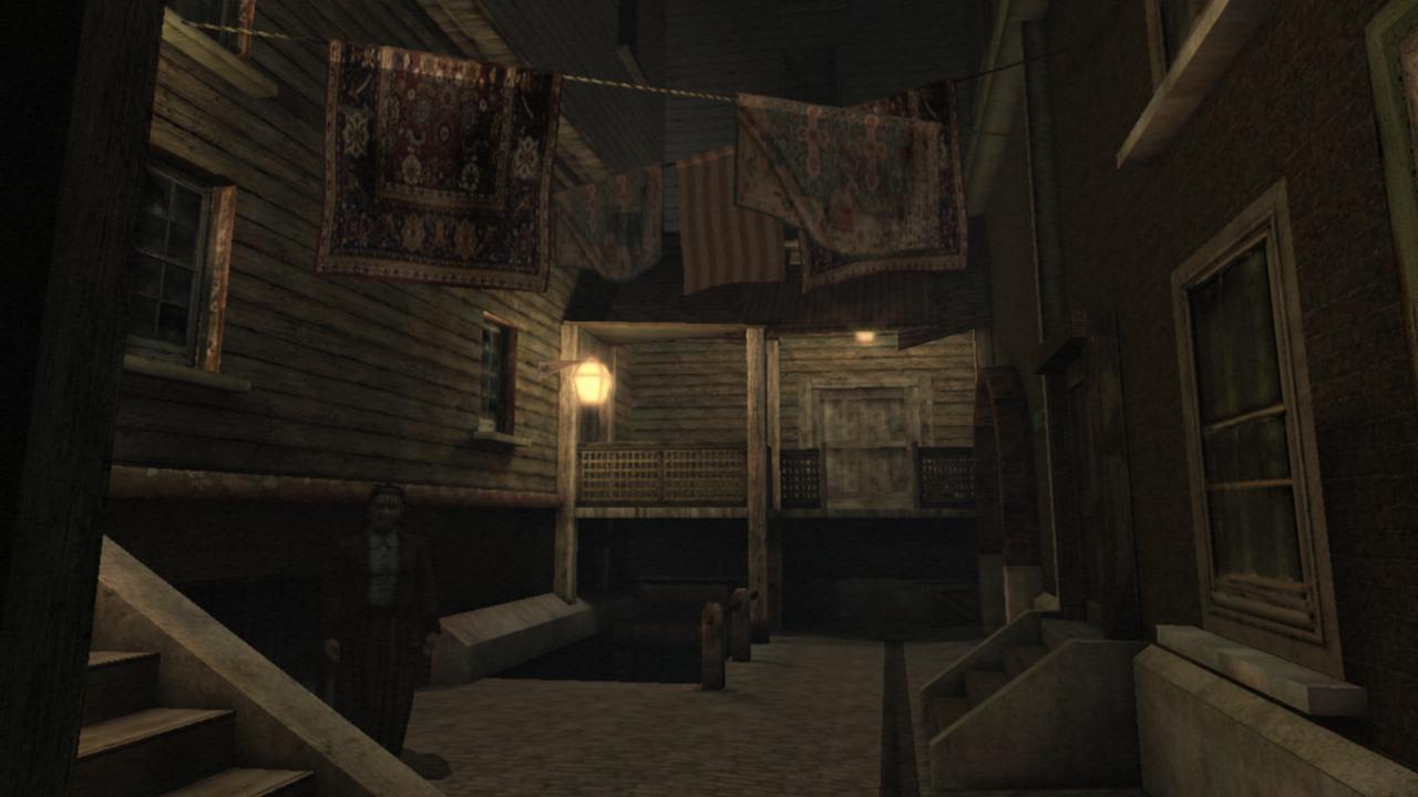 Die Gasse im Armenhaus von Innsmouth