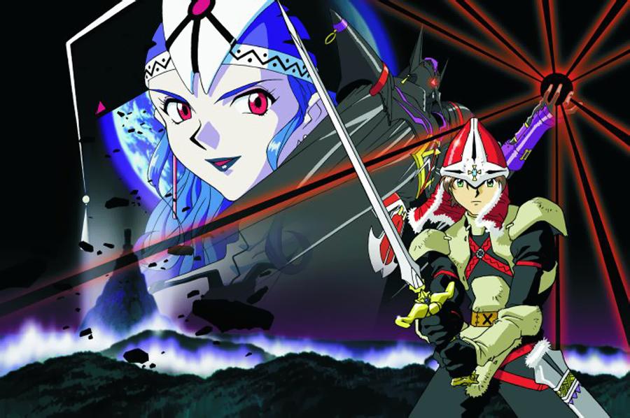 Dragonmaster Alex und Althena (Quelle: Working Designs / Game Arts)