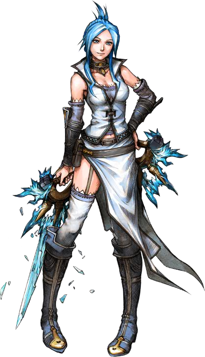 Selan aus dem Lufia-Remake auf dem DS (Quelle: Atlus)