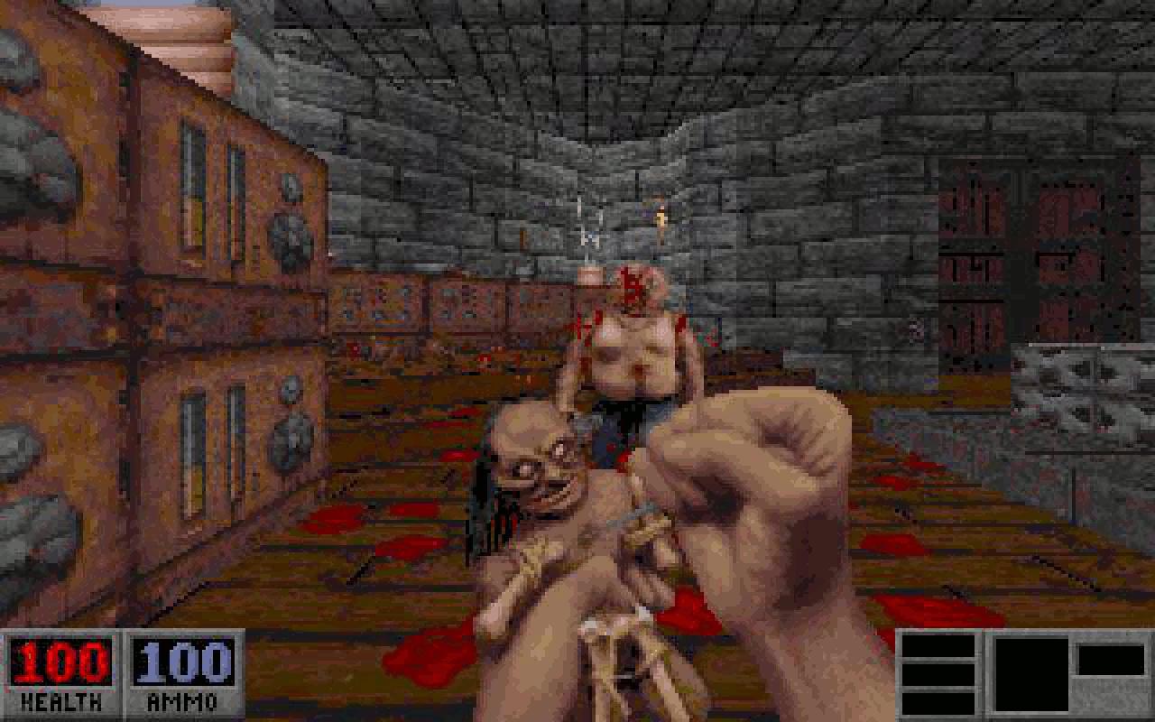 Einmalig: mit einer Voodoo-Puppe kämpfen wir uns durch. (Bild: André Eymann)