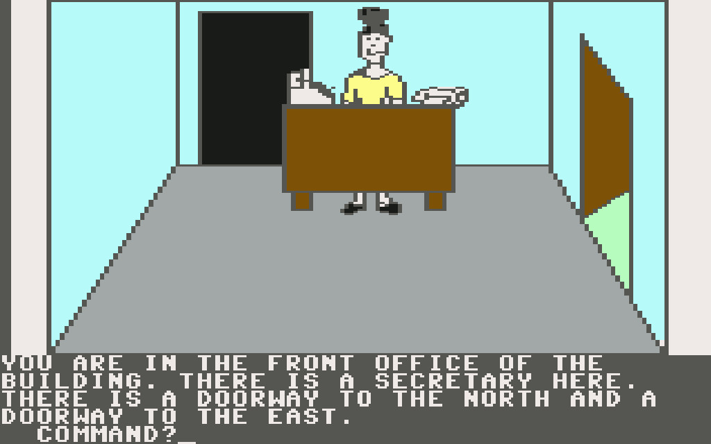 Mission Asteroid von 1984 auf dem Commodore 64. (Bild: myabandonware.com)