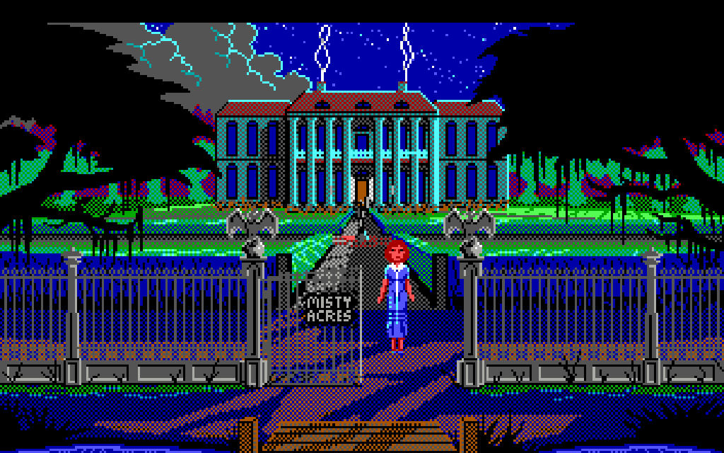 The Colonel's Bequest: A Laura Bow Mystery von 1989, DOS. (Bild: myabandonware.com)