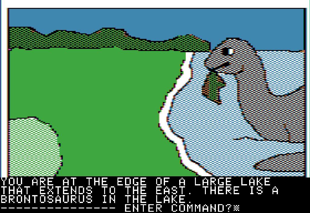 Time Zone von 1982 auf dem Apple II. (Bild: myabandonware.com)