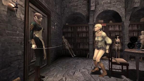 Haunting Ground: Auf der Flucht vor Dienstmädchen Daniella (Bild: Capcom)