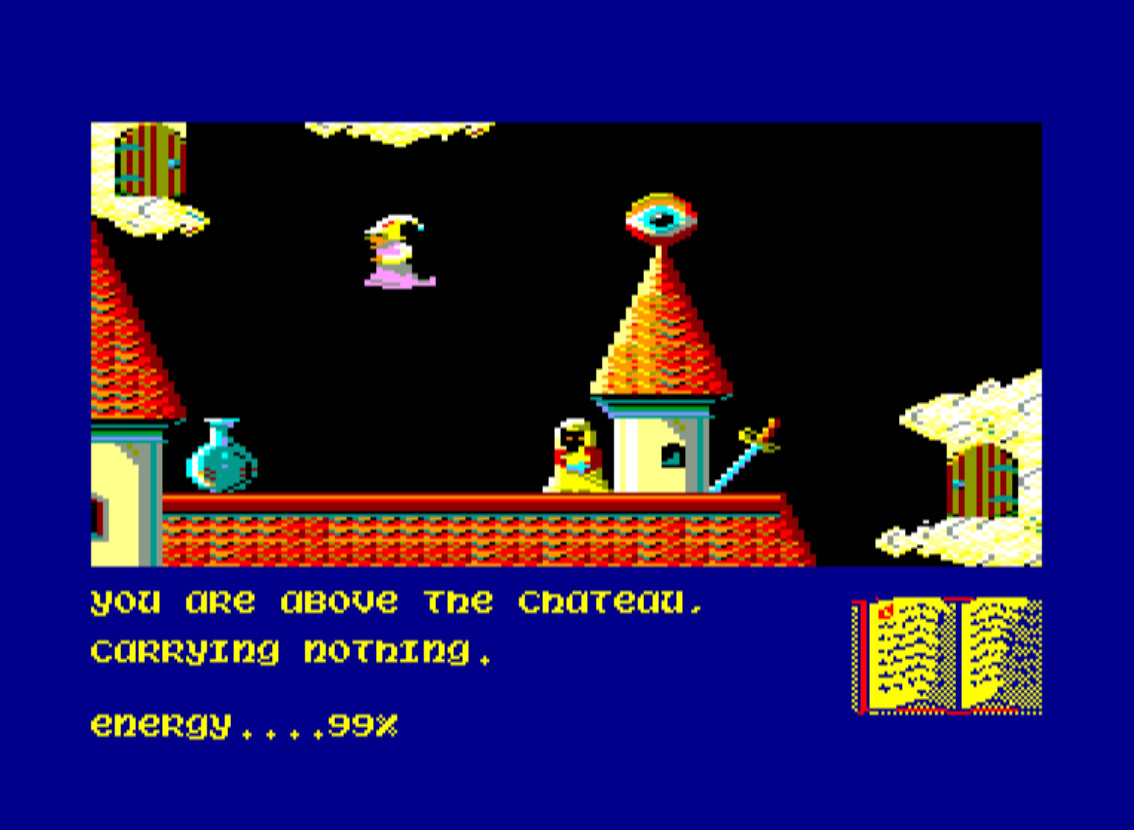 Screenshot 2: Sorcery - Magie aus Bits und Bytes. (Bild: Michael Dudenhöffer)