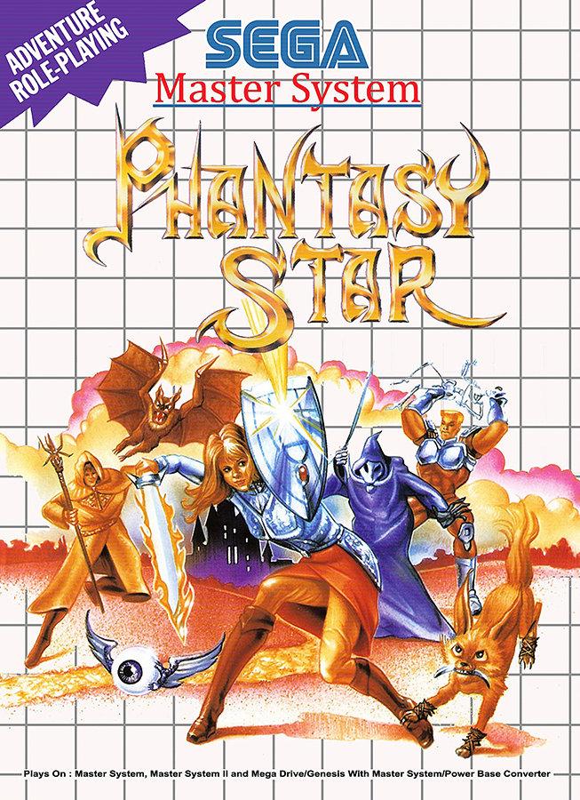 Phantasy Star Cover. (Quelle: Sega)