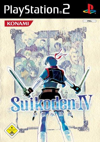 Cover Suikoden IV PAL. (Quelle: Konami)