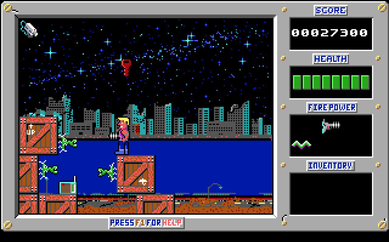 ...weil Commander Keen wie auch Duke Nukem fair zu spielen waren. (Bild: Martin Goldmann)