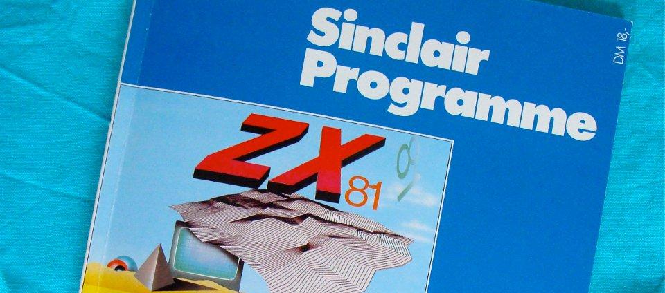 Der Sinclair ZX81 war in den 1980er Jahren einer der ersten populären Heimcomputer in Westdeutschland. Hier ist der Auszug des Deckblattes einer CHIP-Sonderausgabe zum ZX81 zu sehen. (Bild: André Eymann)