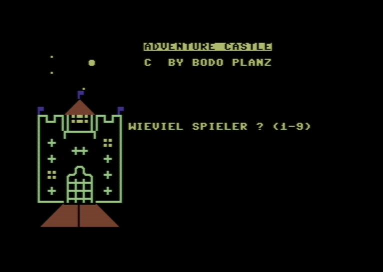 Adventure Castle, S+S Soft, 1983. (Bild: archive.org)