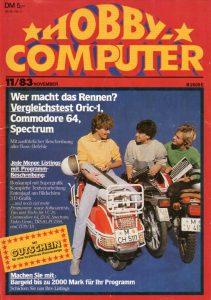 """Die """"Happy"""" noch als """"Hobby Computer"""" betitelt. (Bild: Markt & Technik)"""