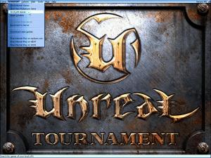 Der Startbildschirm von Unreal Tournament, Version 436. (Bild: André Eymann)
